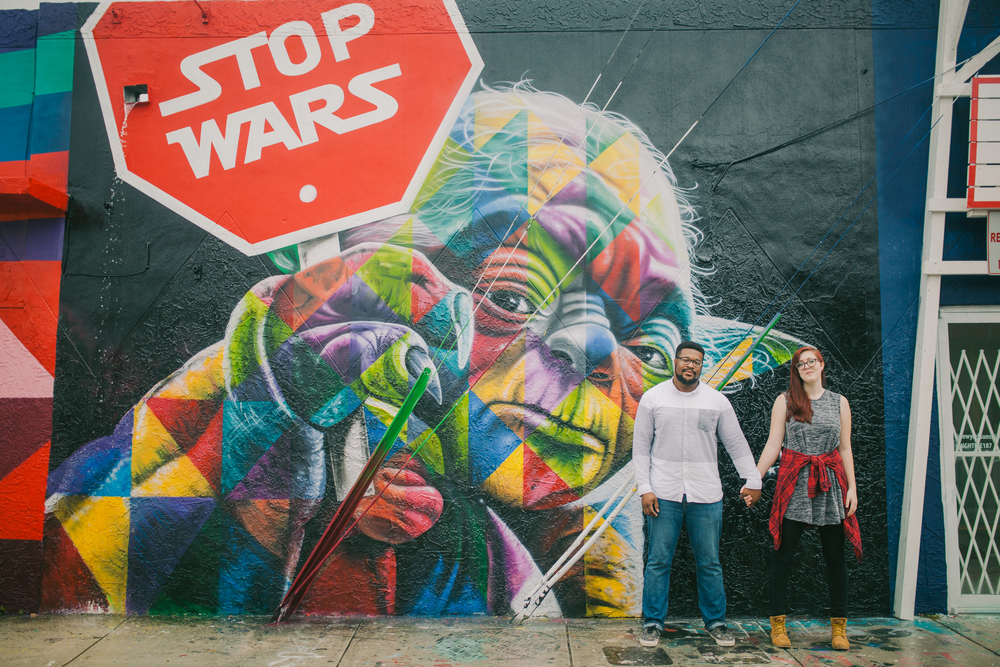 Yoda Stop Wars Star Wars Miami Wynwood Art Mural