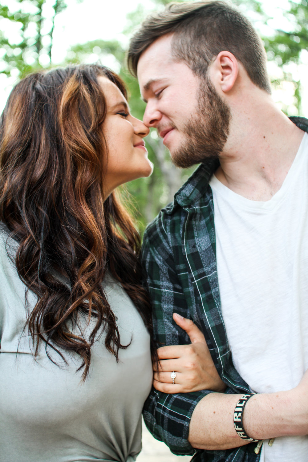 Leah & AJ Engagement Session | Flat Rock Park in Columbus, GA