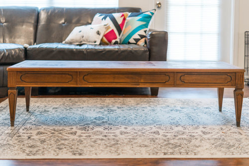 midcentury coffee table makeover — crafted to create