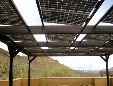 Tucson AZ Solar Pool Shade and Heater
