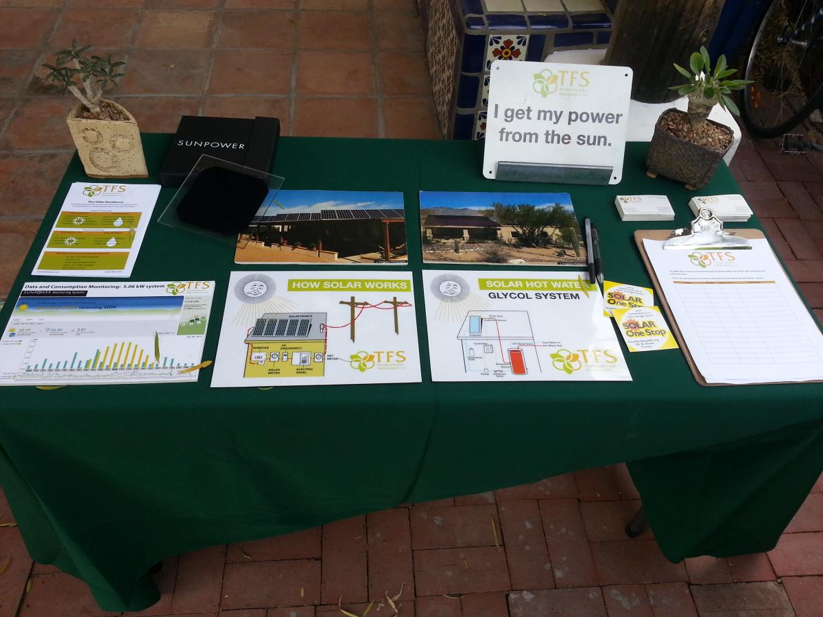 Solar Educational Talks with TFS