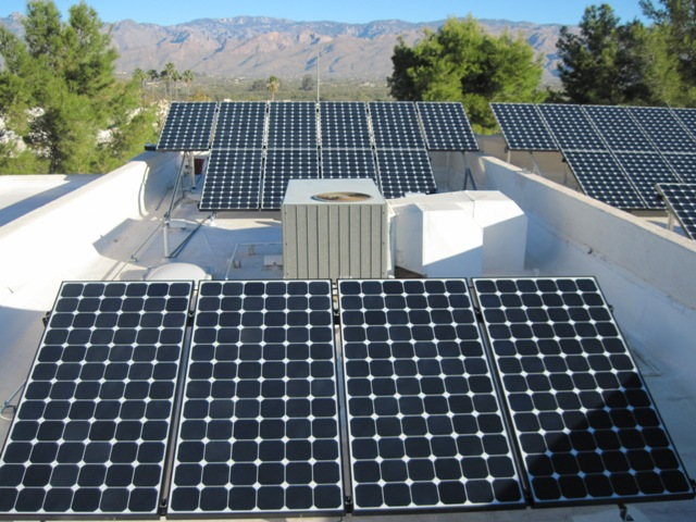 Tucson AZ Home with Solar Power