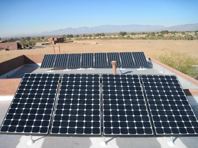 Tucson AZ Home Solar Photovoltaic Panels