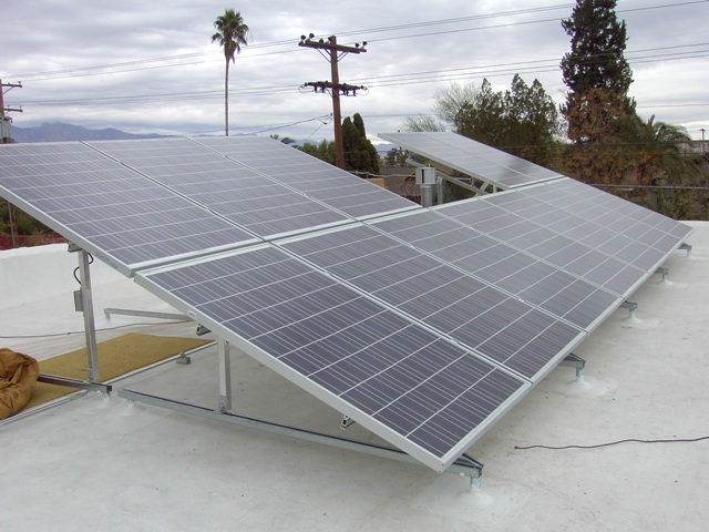 Tucson AZ Home with Solar Photo Voltaic Power