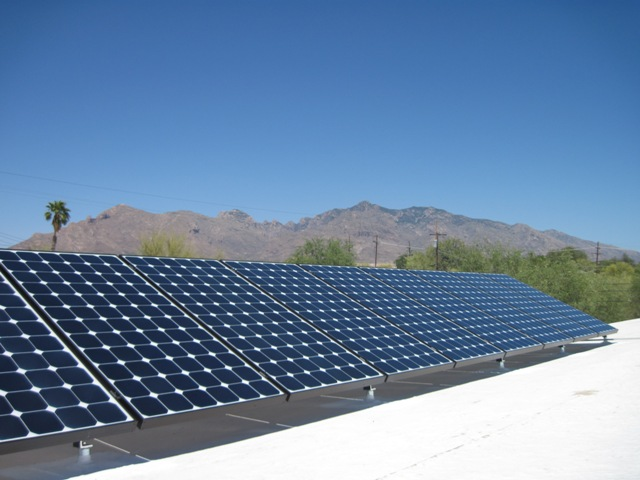 Tucson AZ Home Solar Photovoltaic Panel