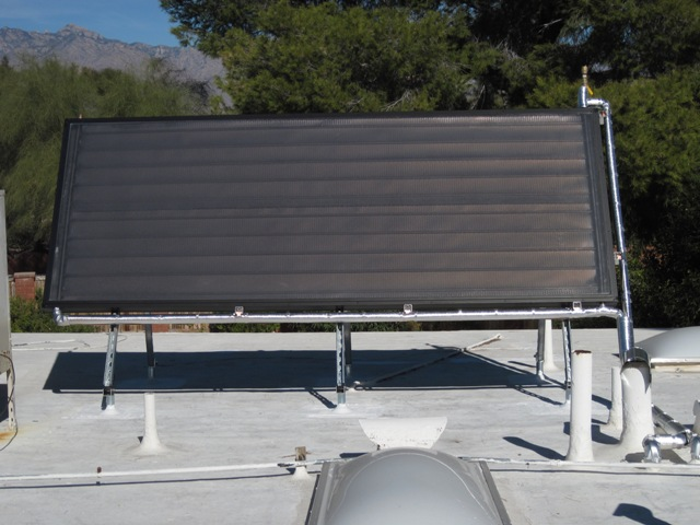 Tucson AZ Home Solar Hot Water Panel