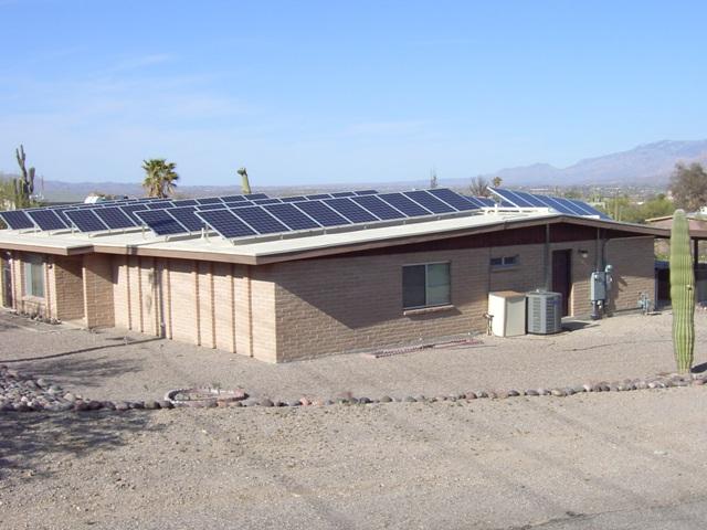 solar tucson residence photovoltaic