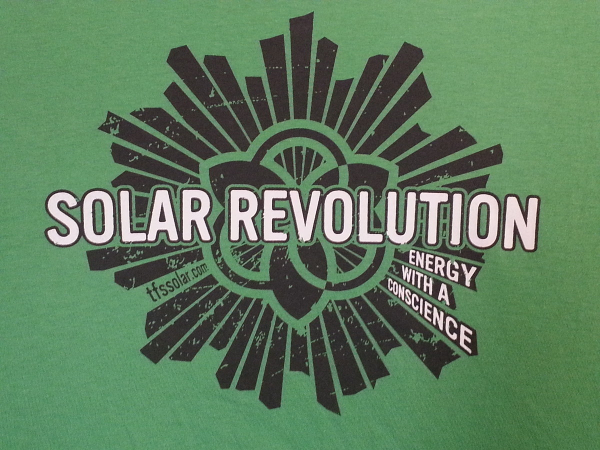 Solar Revolution T-Shirt Design