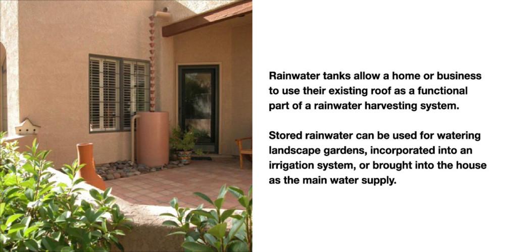Rainwater Storage   Simple U0026 Sustainable