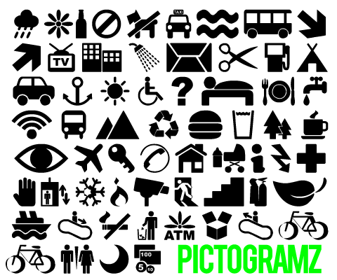 10 free and useful dingbat fonts on designer-daily