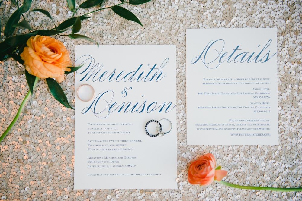 Casscells fry wedding invitations