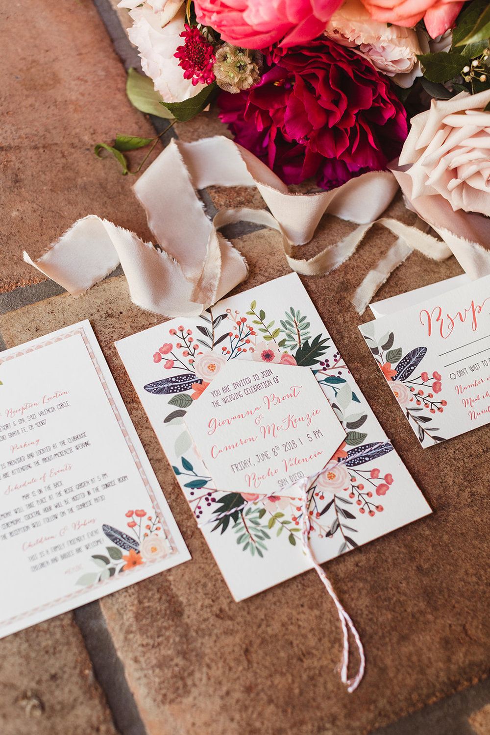Bridal Bouquet and Invitation.jpg