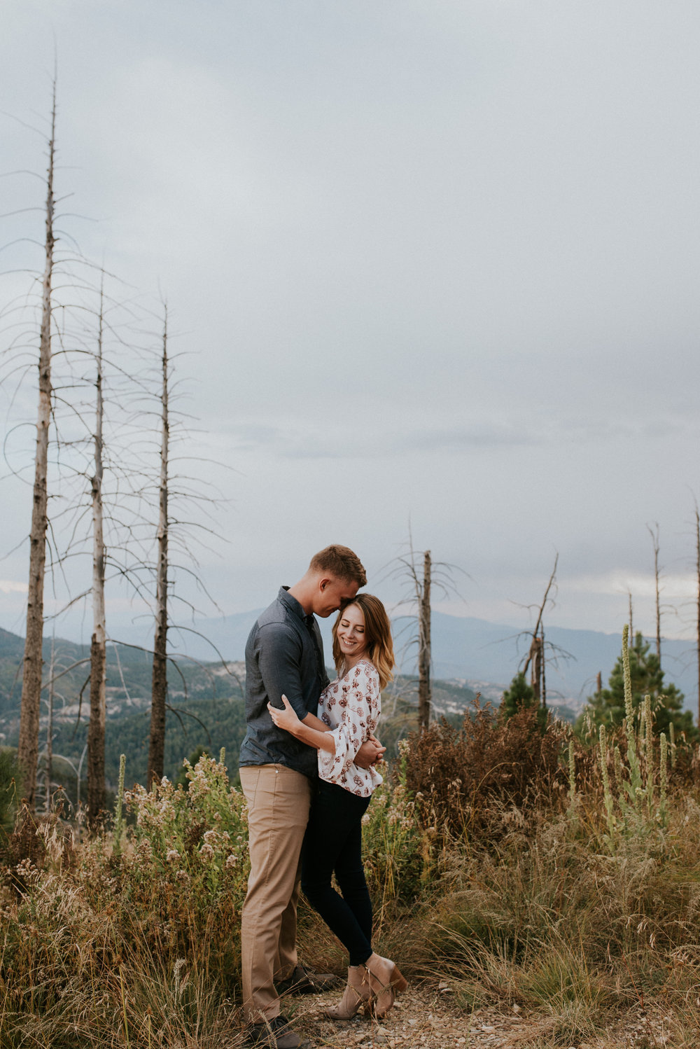 Fall Stormy Engagement Session Mount Lemmon-15.jpg