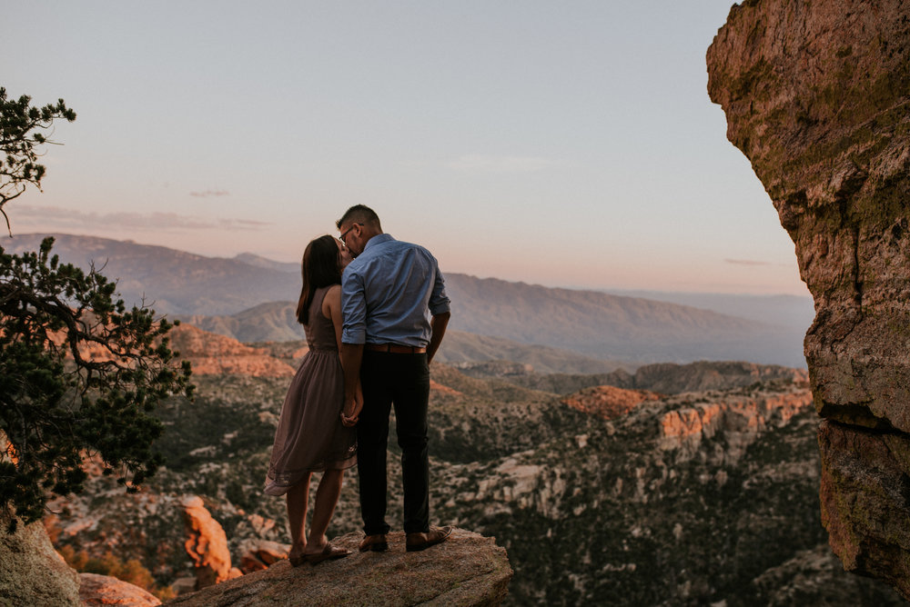 Romantic Fall Mountain Engagement Session Mount Lemmon-80.jpg