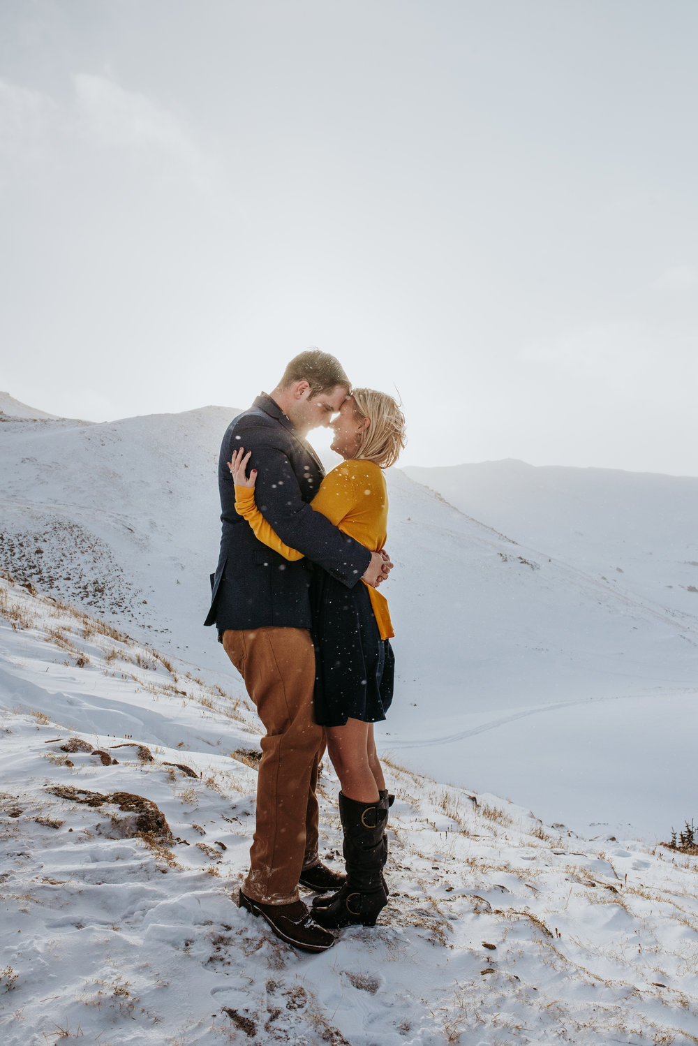 Colorado Adventure Snowy Engagement Session-15.jpg