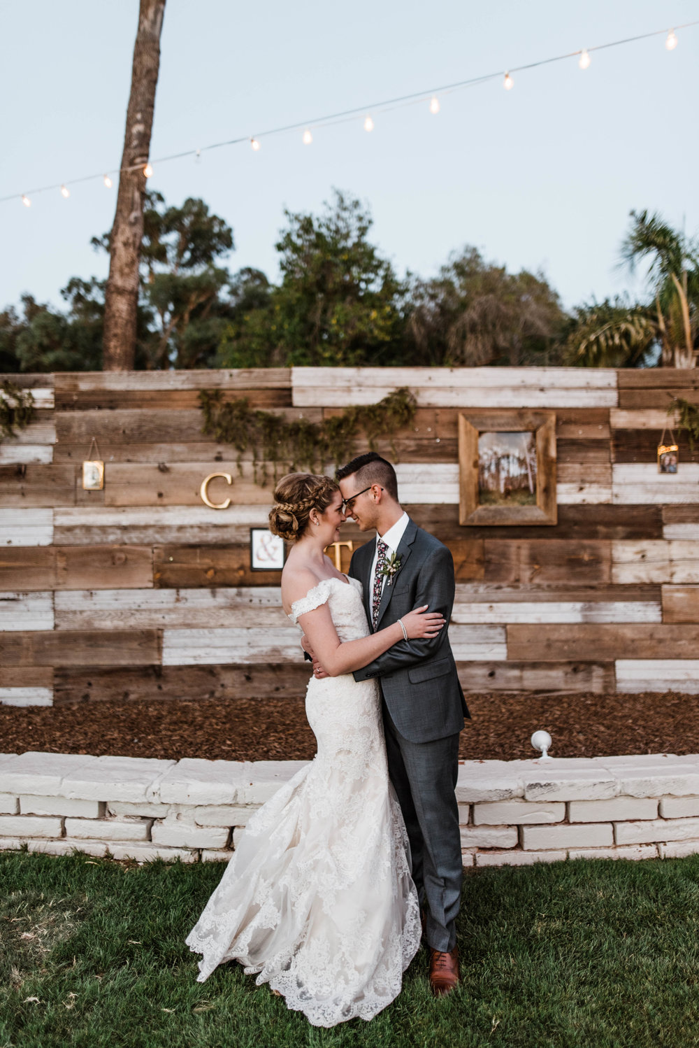 Intimate Backyard Gather Estate Wedding
