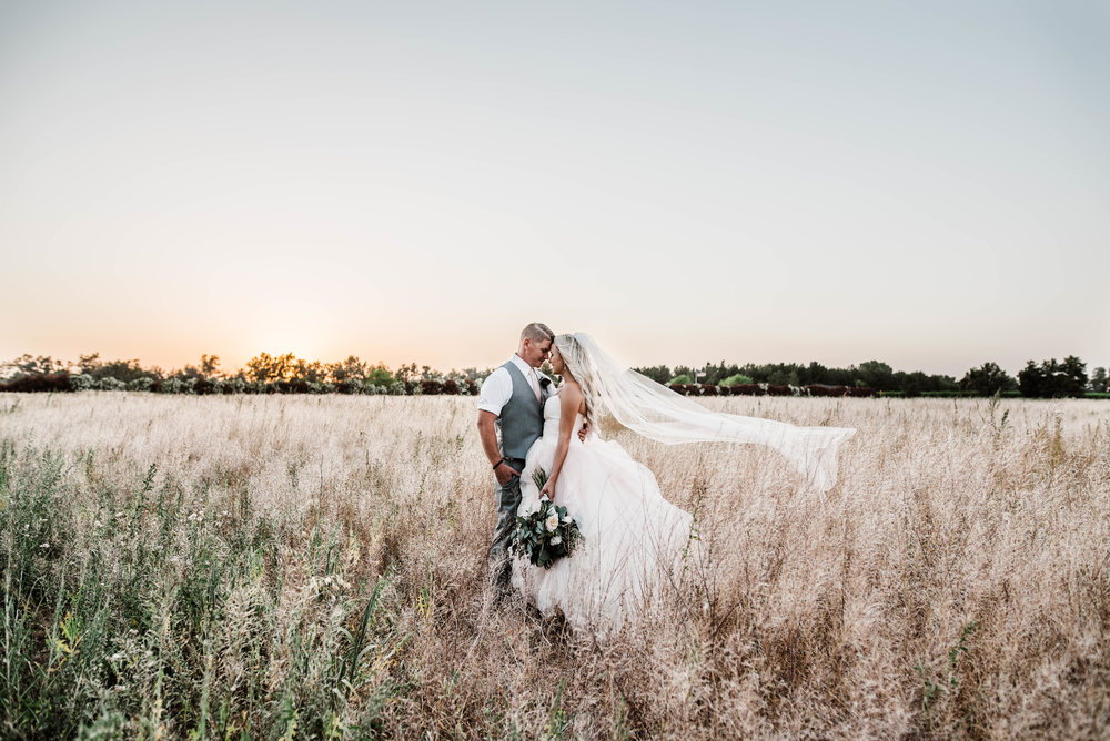 Schnepf Farms Farmhouse Wedding