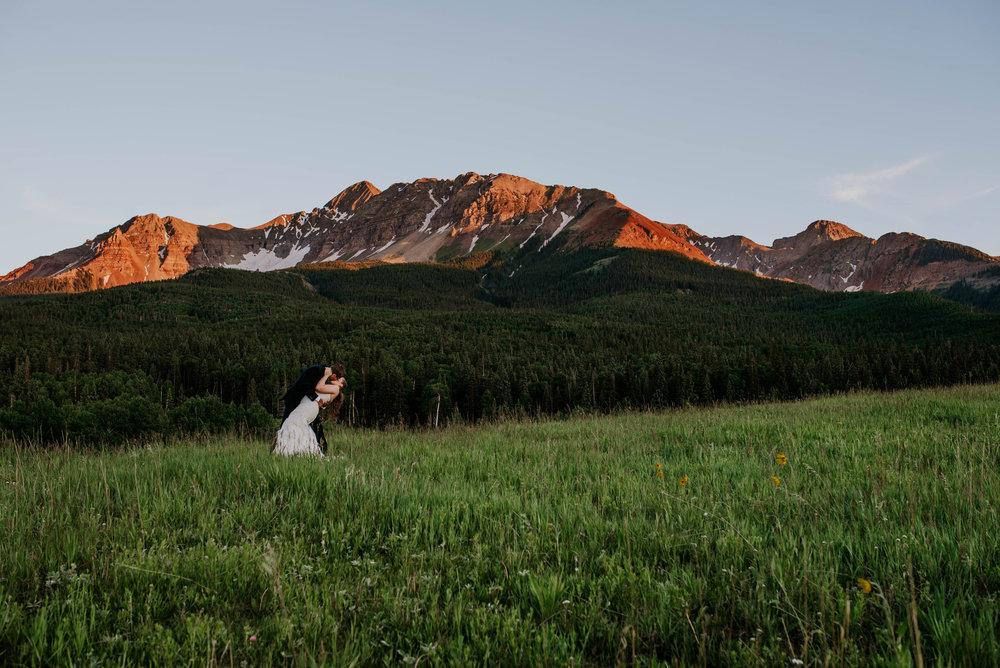 Schmid Ranch Telluride Colorado Wedding