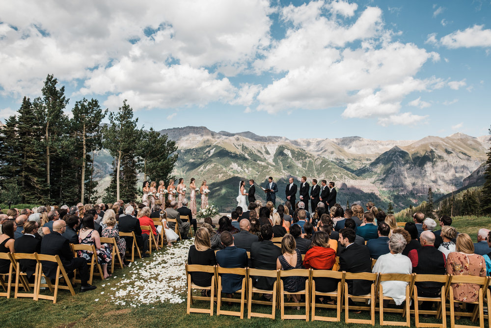 San Sophia Telluride Colorado Wedding