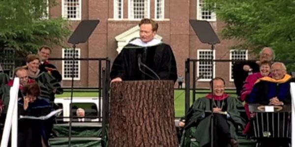 conan obrien graduation speech dartmouth