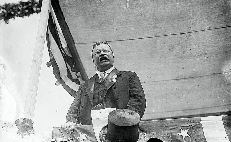 Theodore Roosevelt: 'The Man With the Muck-Rake' - 1906
