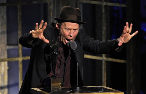 Tom Waits Songs Are Really Just Interesting Things To Be Doing With The Air Rock And Roll Hall Of Fame Induction