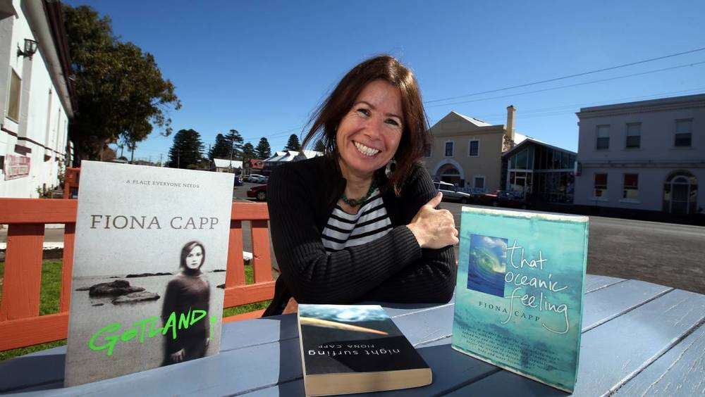 Here is Fiona Capp with subsequent novel Gotland.