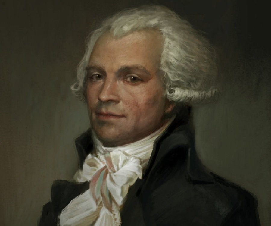 Maximilien Robespierre: 'Never...