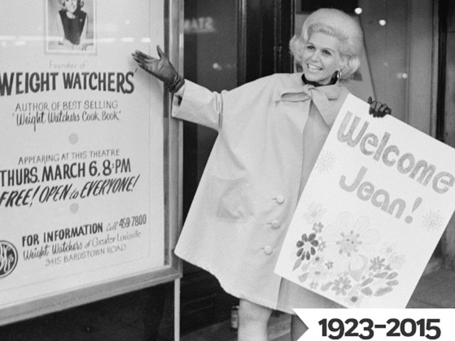 Jean Nidetch: 'I woke up that morning and I was having a 'thin day', Weight Watchers Origin Story - unknown