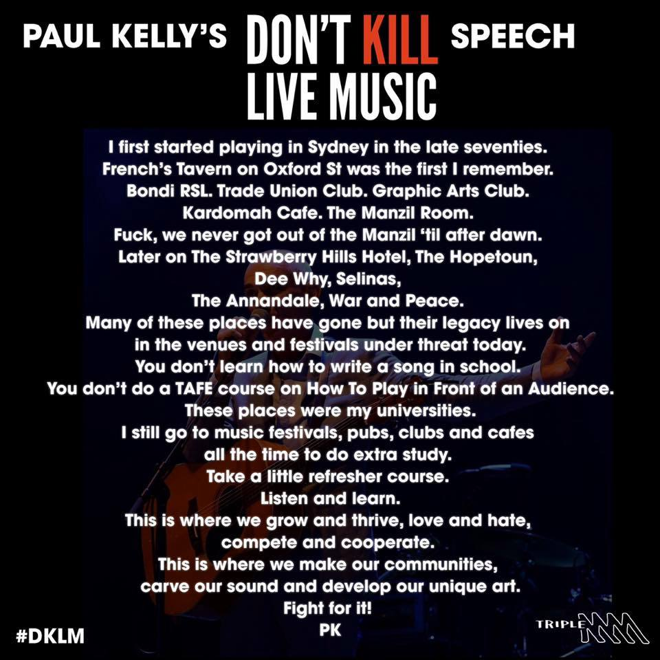 Paul Kelly Dont Kill Live Music.jpg