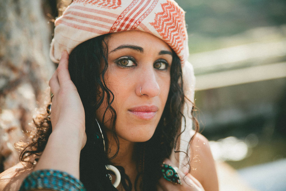 Naima Shalhoub - Naima and I are long time friends and we love sailing together on the Bay. When we're lucky, she sings at our Apres-Sailing parties.Naima is not only stunning, fierce, and fiery, but is also a crazy talented musician. She stands up for what she believes in and fights for social justice.