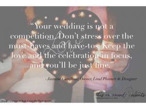 Your Wedding is Not a Competition