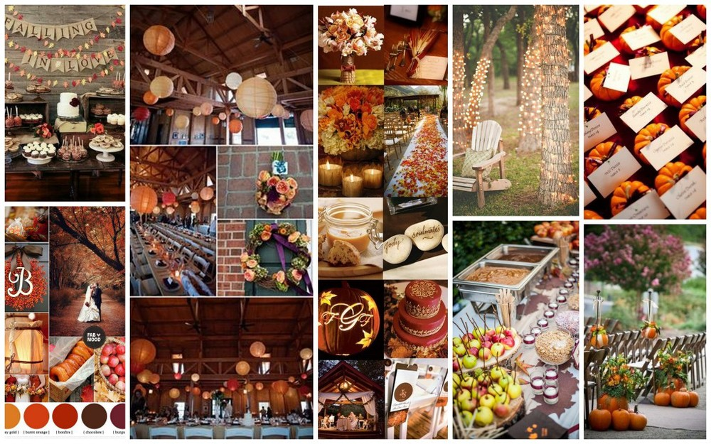 Down Home Fall Wedding