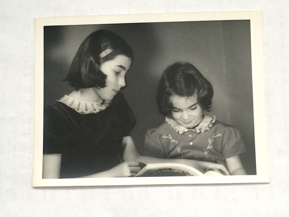 Siblings born during World War II, Ruth was the European child and Margaret Rose was the American child.    memory prompt:  Do you have a sibling whose childhood differed from yours?