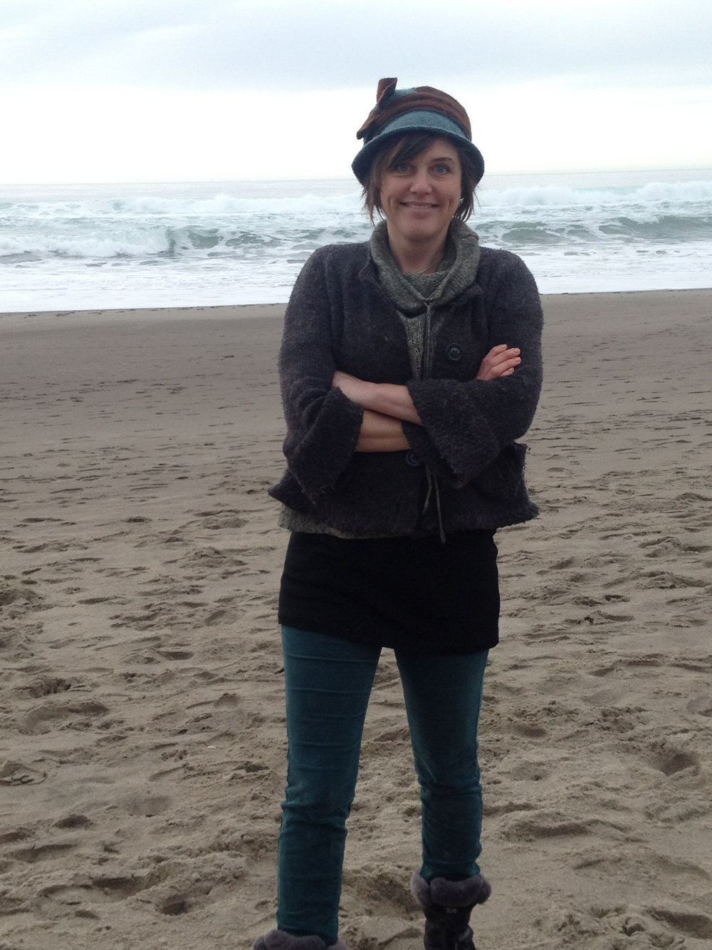 Facilitator Kaia Sand retreats often to the Oregon Coast for her writing