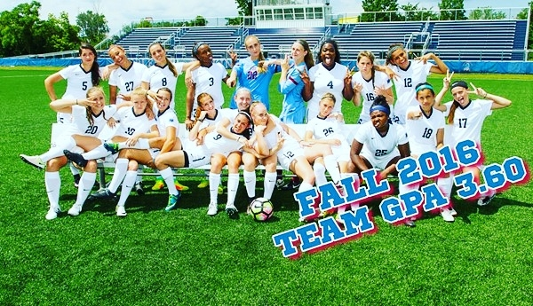 Samantha Roff and her Fairleigh Dickinson Knights (NCAA D1) team mates make the NEC Fall Honor Roll.