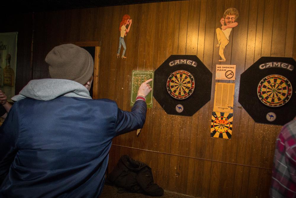 Play Darts at Landmark Lanes