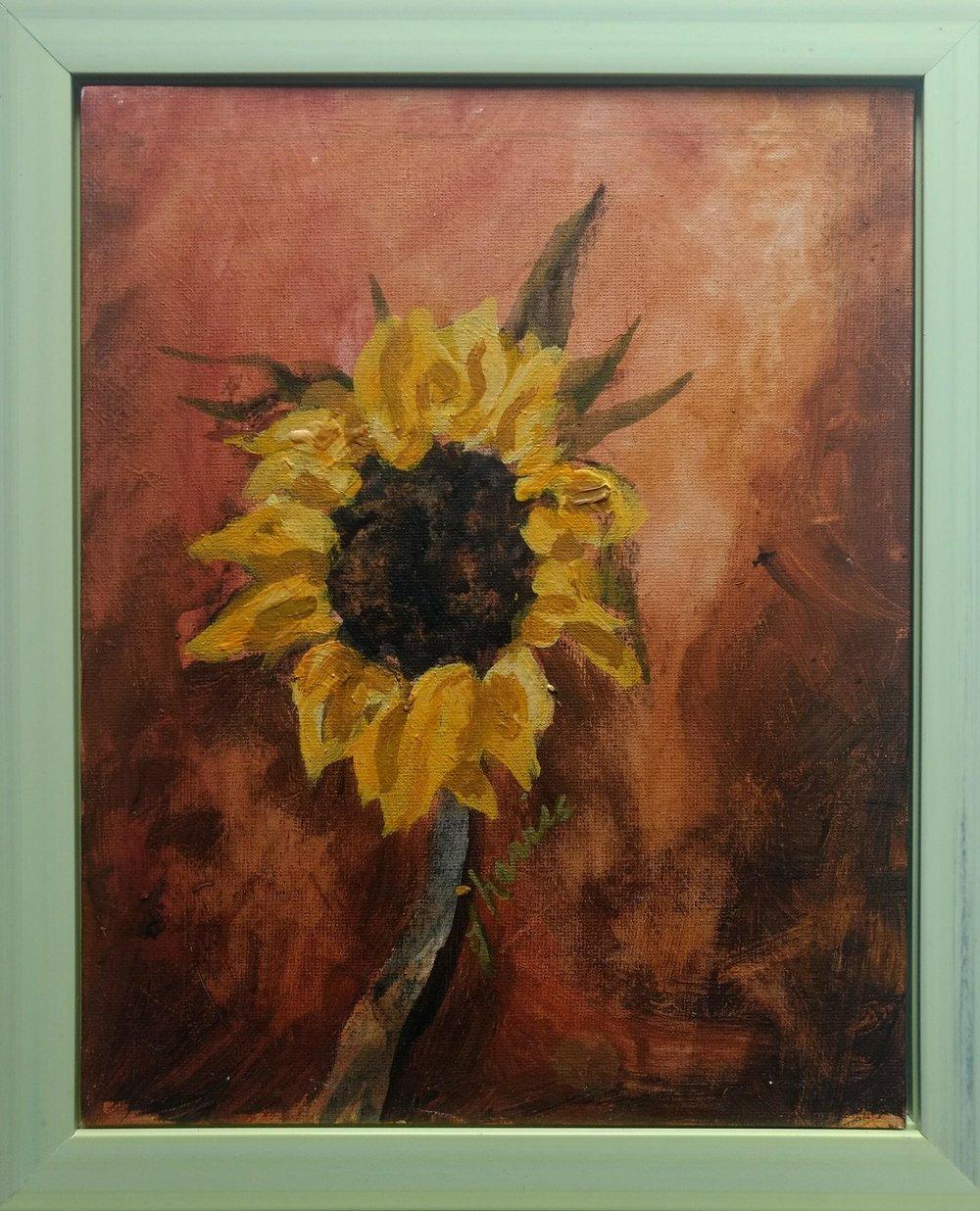 Sunflower Portrait 4