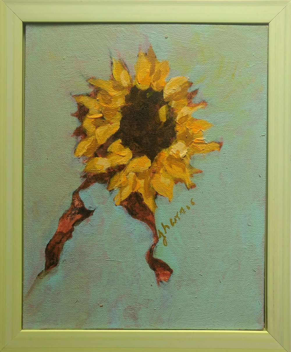 Sunflower Portrait 5