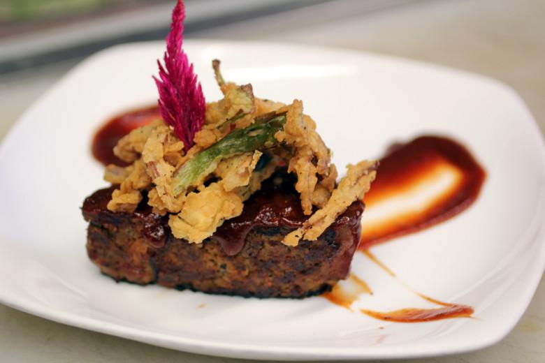 Kimchi Meatloaf