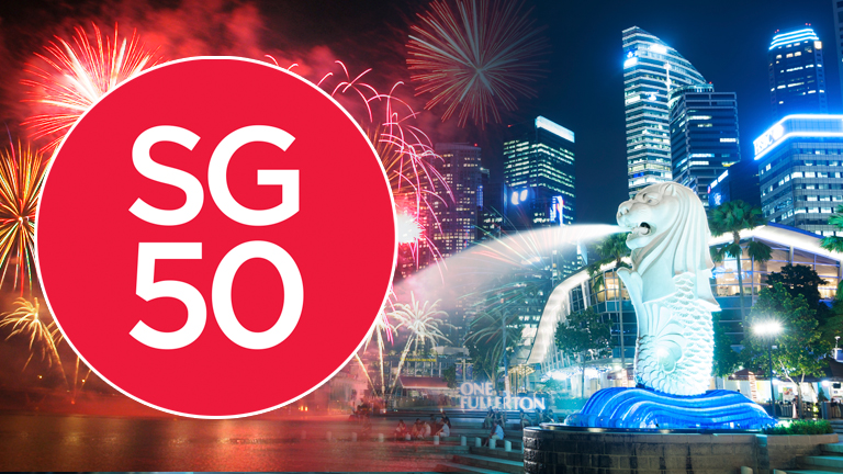 We celebrate the SG50 This August!