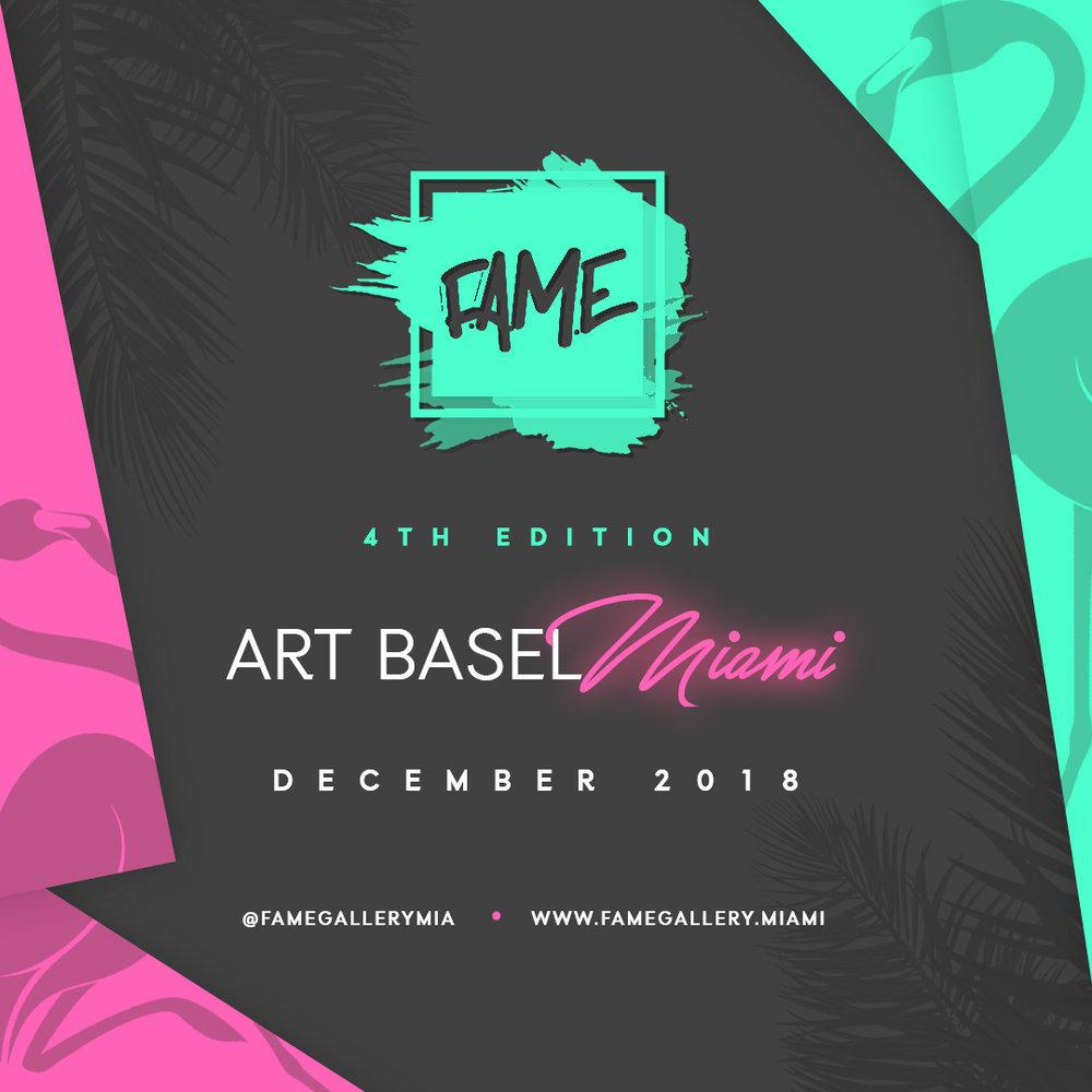 F.A.M.E Art Basel Miami - Check out www.FAMEGallery.miami or Click HERE.