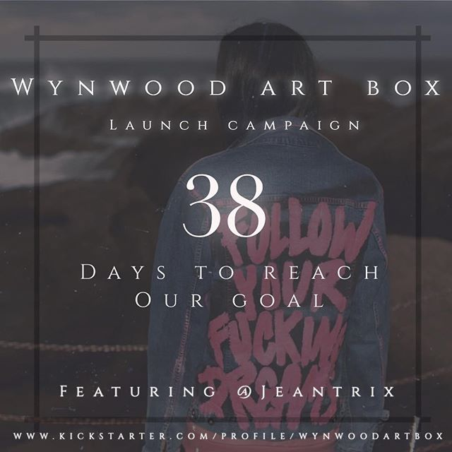 @wynwoodartbox will feature a wearable art item by @jeantrix  Support #ARTist and purchase your 📦 #artisaninvestment #artinvestment #invest #support #wynwood #artbox #brooklyn #losangeles #supportsmallbusiness #supportyourfriends #kickstarter