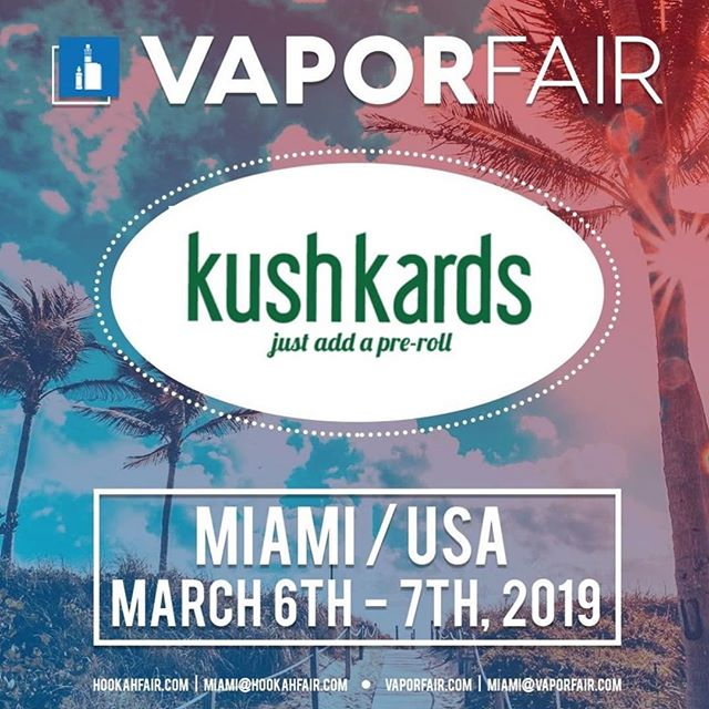 Our CEO @anais.mja landed str8 from Europe to pop up at @vaporfairusa to represent the amazing brand @kushkards  Pass by booth #116 to check out this incredibly innovative brand.  #kushkards #cannabis #greetingcards #greetingcard #cannabisgreetingcards #vapor #vaporfair #miami #miamibeach #miamibeachconventioncenter #cannabiscommunity #card #prerolls #wholesale #retail #smokeshop #dispensary #giftshop #shopping #onlineshopping