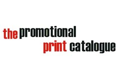 the promotional print catalogue