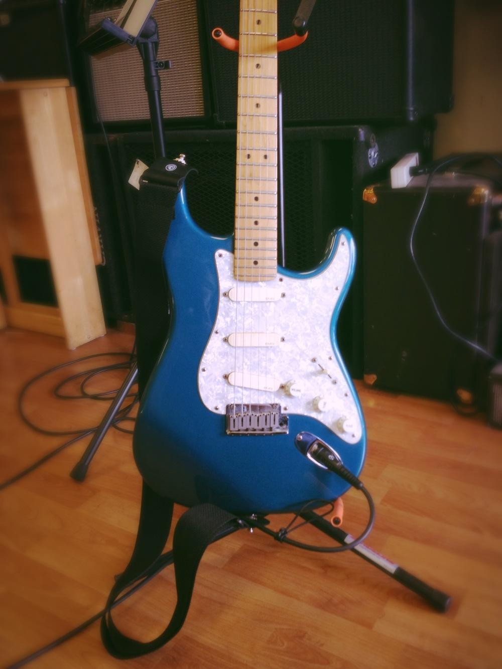 The pretty guitar.