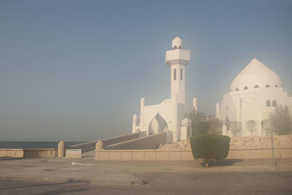 Mosque and Sandstorm, Al-Khobar, 2014