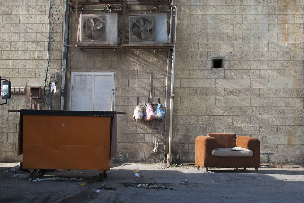 Armchair and Trash, Al-Khobar, 2015