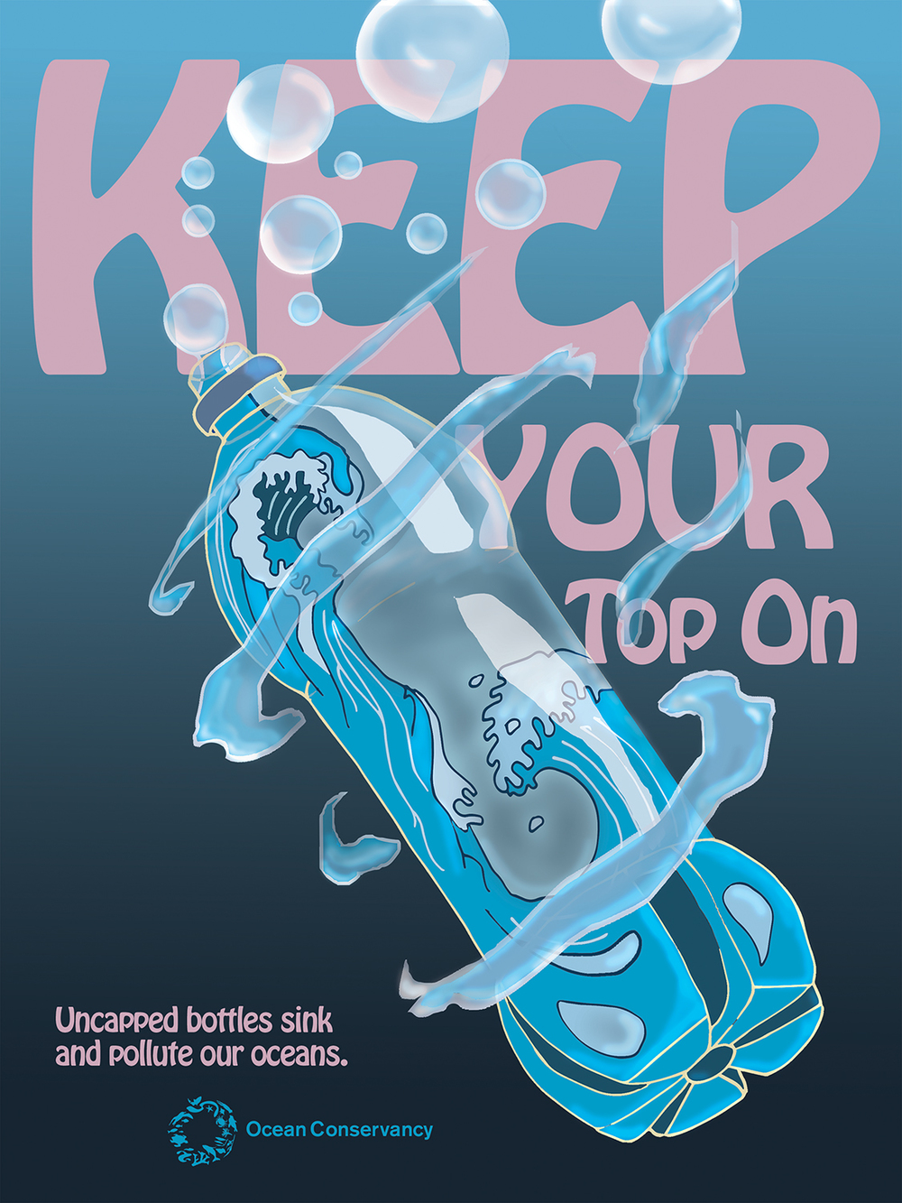 Ocean Conservancy - Keep Your Top On