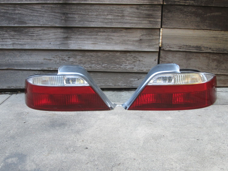 Acura TL Red Clear Stanley Tail Lights Hondalouver Fog - 1999 acura integra tail lights